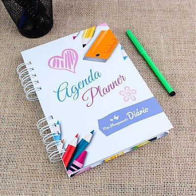 Agenda Planner 2019 | Capa Estudante