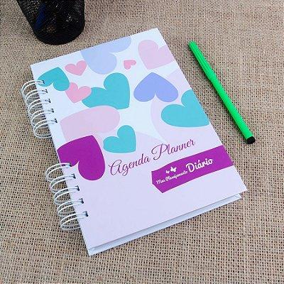 Agenda Planner | Agosto 2018 à Julho 2019