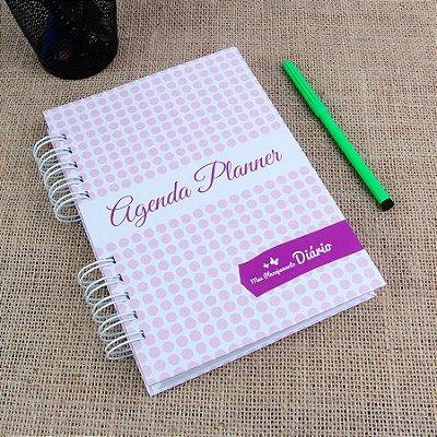 Agenda Planner 2019 | Capa Bolinhas