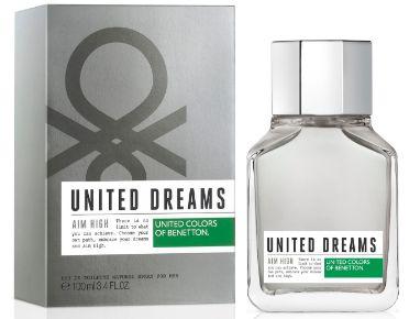 BENETTON UNITED DREAMS AIM HIGH MASCULINO 100ML