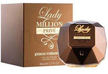 PACO RABANNE LADY MILLION PRIVÉ FEMININO 80ML