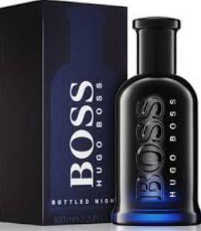 HUGO BOSS BOTTLED NIGHT MASCULINO EDT 100ML