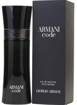 GIORGIO ARMANI CODE HOMME EDT 125ML