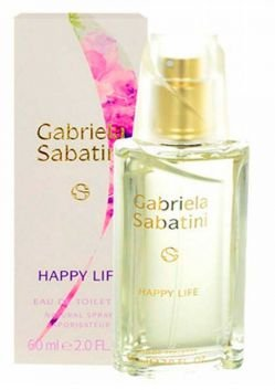 GABRIELA SABATINI HAPPY LIFE FEMININO EDT 60ML