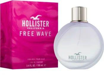 HOLLISTER FREE WAVE FOR HER FEMININO EDT 100ML
