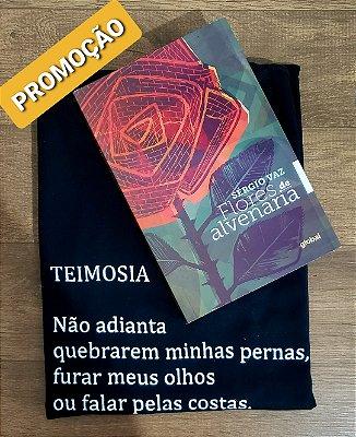 PROMOÇÃO - CAMISETA + LIVRO FLORES DE ALVENARIA (AUTOGRAFADO)