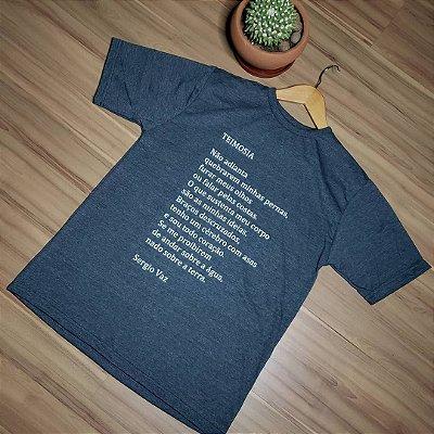 Camiseta cinza - Teimosia