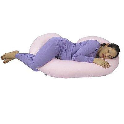 Travesseiro para Gestante Rosa BabyKinha