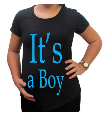 Camiseta Para Gestante It's a Boy BabyKinha