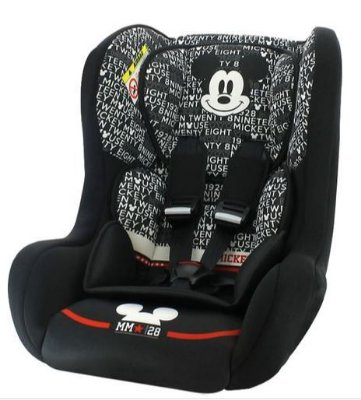 Cadeira para Auto Disney Mickey Mouse Trio 0 a 25kg Team Tex