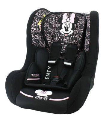 Cadeira para Auto Disney Minnie Mouse Trio 0 a 25kg Team Tex