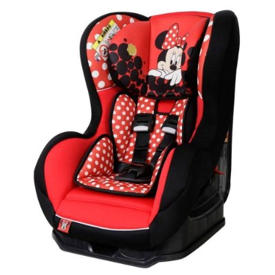 Cadeira para Auto Disney Primo Minnie Mouse Red Vite 0 a 25kg Team Tex