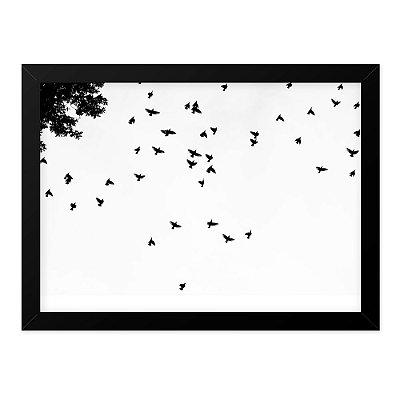 Quadro A4 Black Birds
