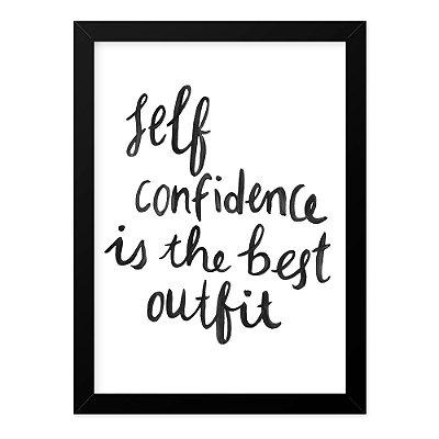 Quadro A4 Confidence
