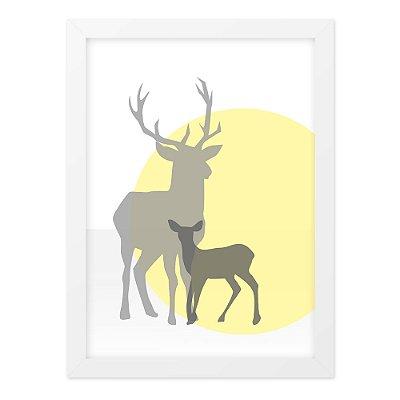 Quadro A4 Deer