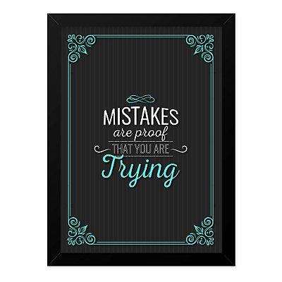 Quadro A4 Mistakes