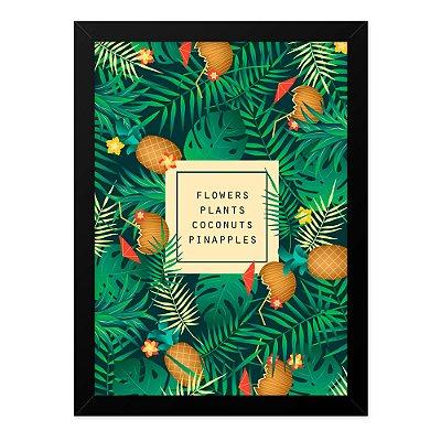 Quadro A4 Natre Fruits Plants Floweers