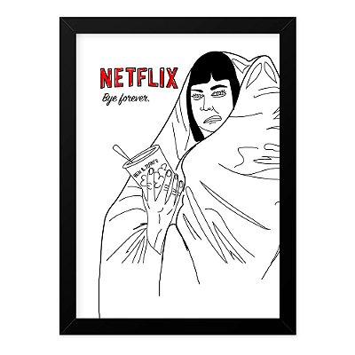 Quadro A4 Netflix Life
