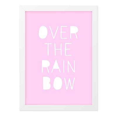 Quadro A4 Over The Rainbow