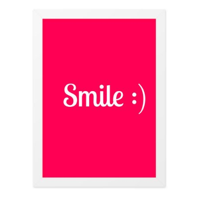 Quadro A4 Smile