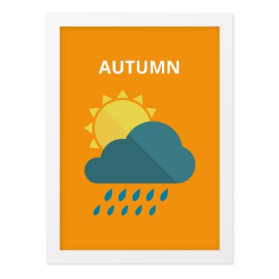 Quadro A4 Autumn