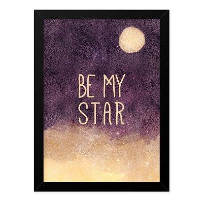 Quadro A4 Be My Star