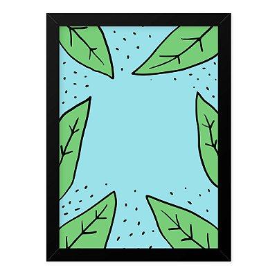 Quadro A4 Floresta Plantas