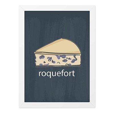 Quadro A4 Lousa Cheese Roqueford