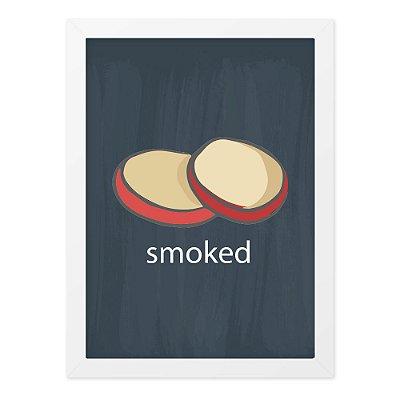 Quadro A4 Lousa Cheese Smoked
