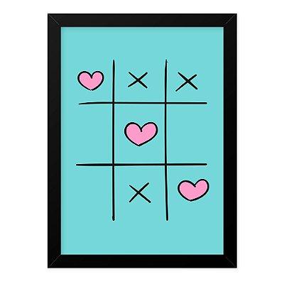 Quadro A4 Love Game