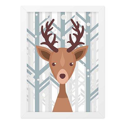 Quadro A4 Nice Deer
