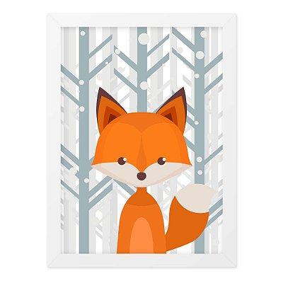 Quadro A4 Nice Fox