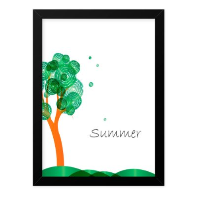 Quadro A4 Seasons Summer