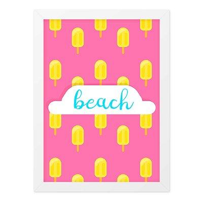 Quadro A4 Summer Beach
