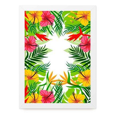 Quadro A4 Summer Plants