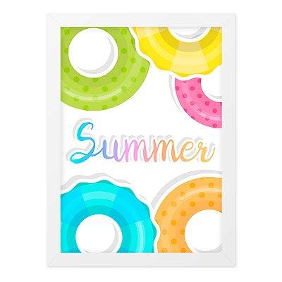 Quadro A4 Summer Pool