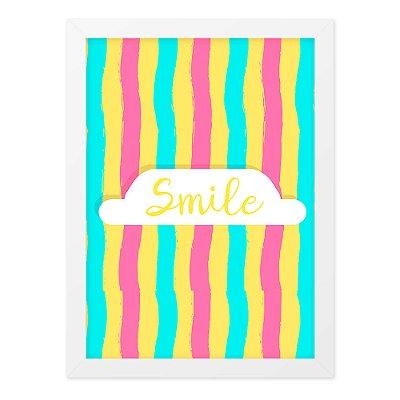 Quadro A4 Summer Smile