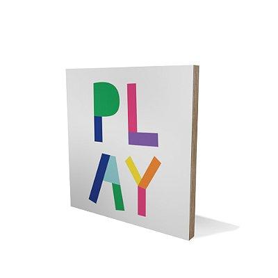 Placa Compensado 20x20 Play