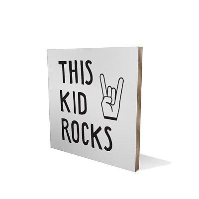Placa Compensado 20x20 Rocks