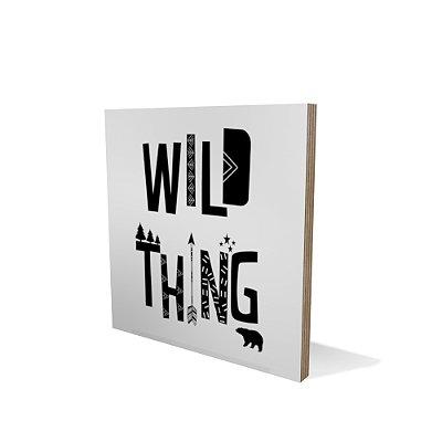Placa Compensado 20x20 Wild Thing