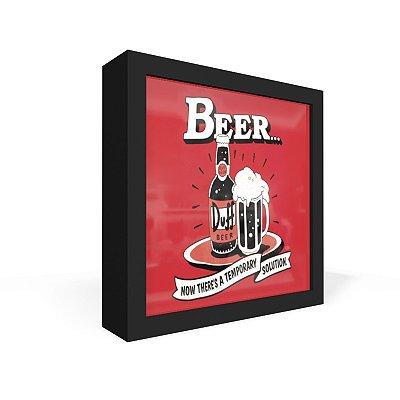 Quadro Caixa Frontal Beer