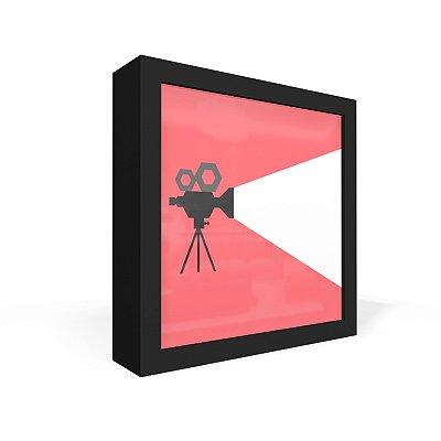 Quadro Caixa Frontal Cinema