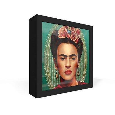 Quadro Caixa Frontal Frida Chic