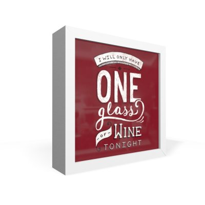 Quadro Caixa Frontal One Glass