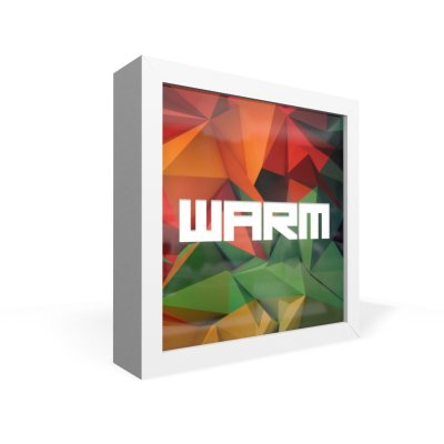 Quadro Caixa Frontal Warm