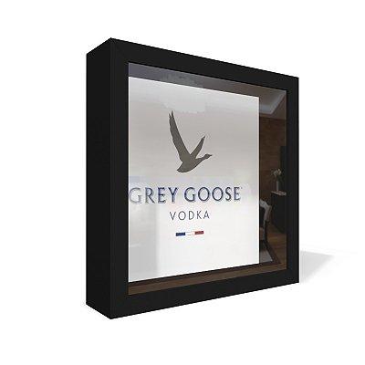 Quadro Caixa 20X20 Grey Goose