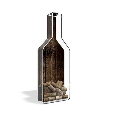 Porta Rolha de Vinho Garrafa Wine