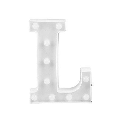 Letra Luminosa Led L