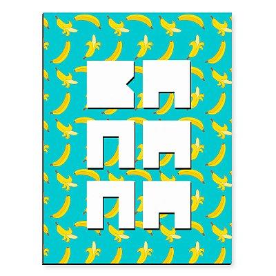 Placa Mdf Banana