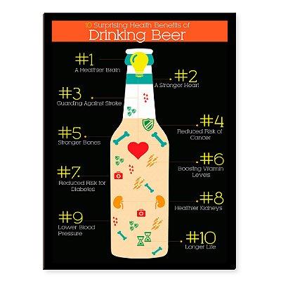 Placa Mdf Beer Benefits